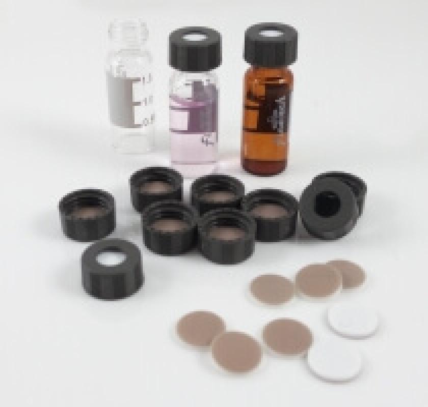 Vials 2ml - Septa 9mm, nắp vặn kèm màng ngăn