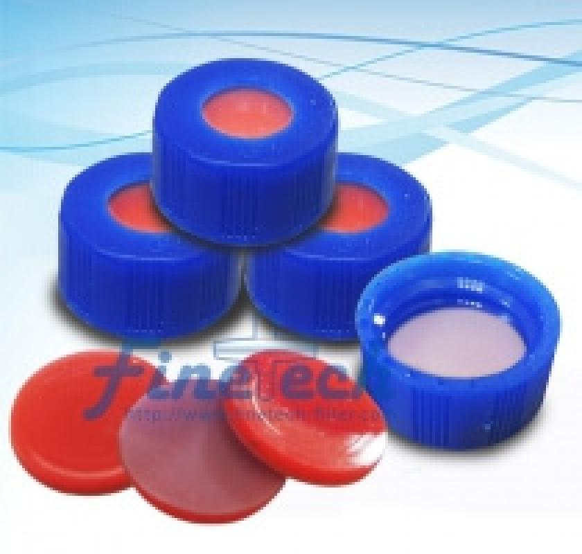 Nắp nhựa PP màu xanh lục 9MM và SEPTA